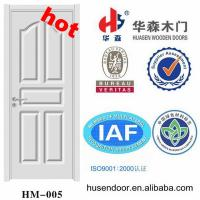 Wholesale flat interior pvc door from china suppliers