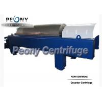 Wholesale Model PDC Continuous Decanter Centrifuge For Water Sludge Dewatering from china suppliers