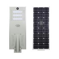Buy cheap Solar Outdoor Lamp Waterproof All In One LED Street Light 80W Integrated Solar from wholesalers