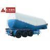 Buy cheap Diesel Engine 40000 L Dry Bulk Tanker 3 Axle Bulk Cement Tanker Strong Bearing from wholesalers