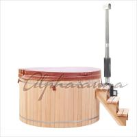 Buy cheap Hand Made Wooden Barrel Northern Lights Cedar Hot Tubs 5 People Capacity from Wholesalers