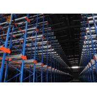 Wholesale Best Cold Rolled Steel Customzied Size Drive In Pallet Racking Warranty 5 Years Push Back from china suppliers