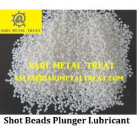 China Purity white plunger lubricant granule,die casting lube wax on sale