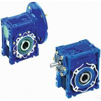 Wholesale Mechanical NMRV Worm Transmission Reverse Gearbox With Motor , Solid Shaft from china suppliers