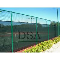 Wholesale The school stadium pvc chain link fence/ outdoor fence/PVC fencing/fence designs from china suppliers
