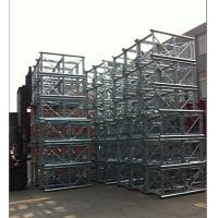 Twin Cage Lifting Construction Hoist Parts With counterweight