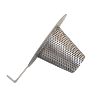 Wholesale Round Hole Steel 316L 2000µM Perforated Metal Mesh from china suppliers