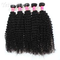 Buy cheap Long Lasting Grade 6A Brazilian Hair Kinky Curly Weave With Tangle Free from Wholesalers
