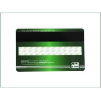 Wholesale High Frequency Membership PVC Card , Custom Mag Stripe Cards Matte Finished from china suppliers