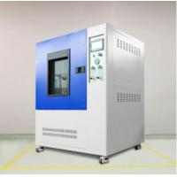 China Remote Control Rain Spray Test Chamber Automatically Lift With Compressed Air Dry Function on sale