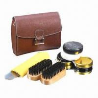 Wholesale Shoe care kit, made of PU from china suppliers
