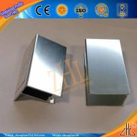 Buy cheap aluminum extrusion panel production line supply structural aluminum extrusions for shower room aluminum profiles from wholesalers