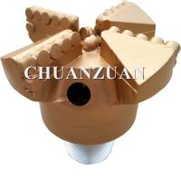 Wholesale High Drill Ability PDC Drag Bit / 4 Wings Golden Chevron Type PDC Drag Bit from china suppliers