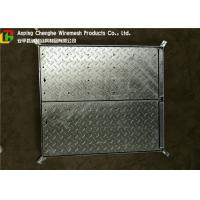 China Galvanized Metal Driveway Drainage Grates , Hinge Stainless Steel Grates For Driveways on sale