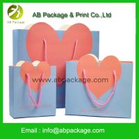 China cool and greative paper bag design/paper gift bag amouage perfume paper bag wholesale on sale