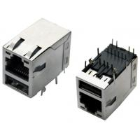 Wholesale RJ45 jack over single USB2.0, shielded with EMI fingers, built-in LED from china suppliers