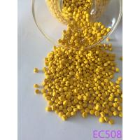 Wholesale Toy And Shoe Deep Yellow Color Masterbatch With 180 ℃ Heat Resistance from china suppliers