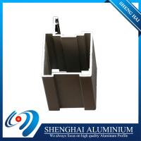 Wholesale South Africa Market Anodized Black Aluminum Frames to make Window and Door from china suppliers