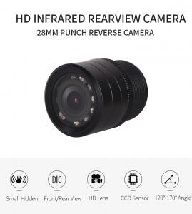 China Car Front and Rear Camera 28MM Mini Car Reverse Camera Car Reversing Rear View Camera on sale