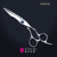"Buy cheap X-Scissors 440B Steel 6.0"" offset handle Hair Cutting Scissors XG02 from Wholesalers"