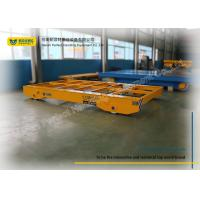 Quality Warehouse Motorless Heavy Load Cart Transferring Flat Wagon Towing Trailer for sale