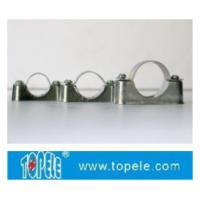 Wholesale BS4568 / BS31 Steel Conduit Fittings Carbon Steel Spacer Bar Saddle With Base from china suppliers