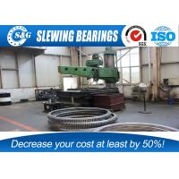 Wholesale Double Row Turntable Ball Bearing , Excavator Slewing Ring Bearing from china suppliers