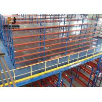 Buy cheap Steel Q235 / Q345 Mezzanine Floor Racking With Large Load Capacity 500kg - 4000kg/Sqm from wholesalers