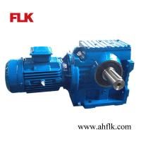Wholesale Right Angle Solid shaft Helical/Worm gear reducer S97 gearbox and motor from china suppliers
