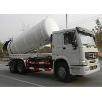 Wholesale High Efficiency 17CBM LHD 336HP Vacuum Sewage Truck For Urban Rain Wells from china suppliers