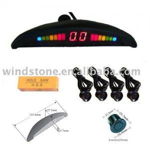 China Rainbow LED parking sensor, Led reverse parking sensor, LED car alarm sensor on sale