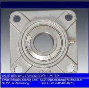 Stainless steel bearing SUCFL206 SUS440 chemical industrial bearing,food grade bearing anti rust bearing
