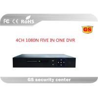 Wholesale Five In One 4ch 1080p Cctv Hd Dvr / Cctv Video Recorder With 3520d V200+6134c , Unreal Time from china suppliers