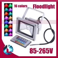 Wholesale High quality AC85~265V CE & ROHS IP65 RGB 30W led floodlight Waterproof from china suppliers