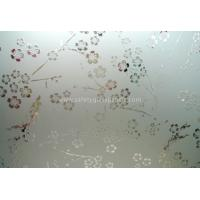 Buy cheap Clear Float Curve Acid Etched Glass 4mm 5mm 6mm For Curtain Walls And Bathroom from Wholesalers