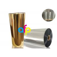 Wholesale BOPP Thermal Metalized FilmVarious Color 52 Dynes Double Corona Treatment from china suppliers