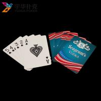 China Custom bridge playing cards 57x87mm double-sided printing on sale
