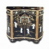China Antique Furniture with Mother of Pearl Lacquer Furniture and Hand Painted on sale