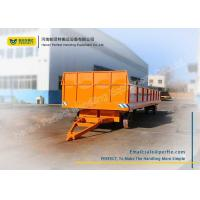 Wholesale Solid Tyre Heavy Duty Plant Trailer 1 Ton - 100 Tons Large Load Capacity from china suppliers