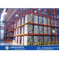 Quality Industrial Drive In Drive Through Racking System For Small Warehouses / Cold for sale