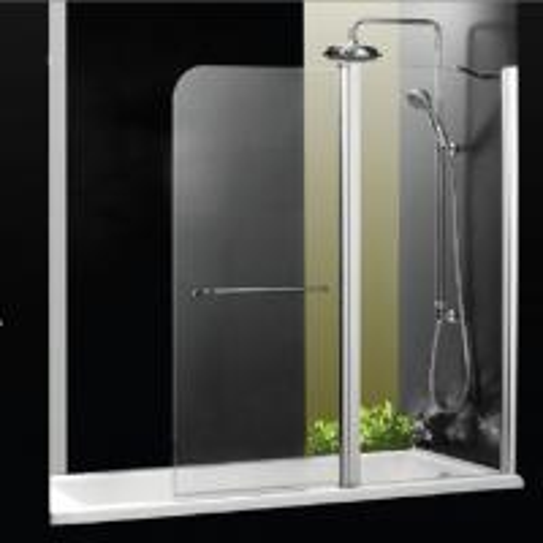 1000 x 1400 over bath folding shower screens frameless shower enclosures amp trays from vesta bathrooms