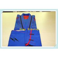 Wholesale bjj gi jiu jitsu gi martial arts uniform kimono blue ripstop gi from china suppliers