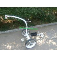 Wholesale High Grade Stainless steel Golf Trolley with double brushless motors from china suppliers