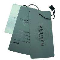 Wholesale Plastic PVC Hang Tags Custom Printing For Garment / Apparel In Supermarket from china suppliers