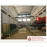 EPS Sandwich Panel Production Line , 3 - 15mm Thickness Sandwich Panel Machine
