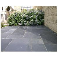 China Chinese Black Slate Walkway Pavers Paving Stone Patio Stones Slate Stone for Driveway on sale