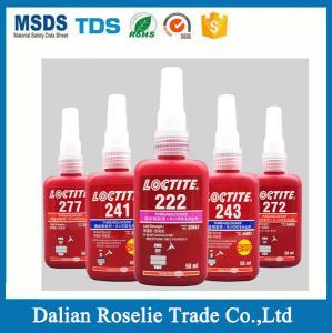 Buy cheap henkel loctite threadlocker loctite 222 242 243 262 263 270 271 272 277 290 50ml 250ml bottle from Wholesalers