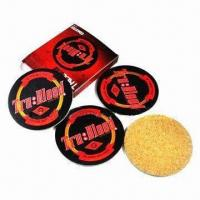 Wholesale Cork/ Wooden Coasters with 3 to 5mm Thickness from china suppliers