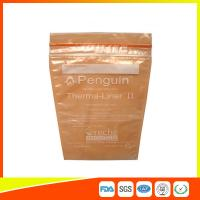 Wholesale Medical Ziplock Pill Bags / Reclosable Small Ziplock Pouches Plastic from china suppliers