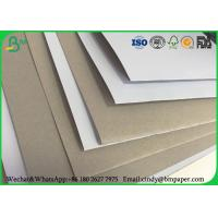 Wholesale 100 x 70 cm 170gsm 180gsm 230 grs / M2  white side coated duplex board grey back suitable for inject print from china suppliers